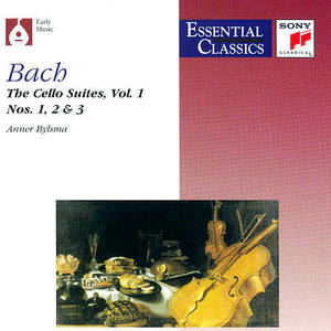 Bach: The Cello Suites Vol.1, Nos.1, 2 & 3 by Various Artists