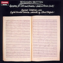 Britten: Symphony for Cello and Orchestra, Death in Venice (Suite) [Bedford]