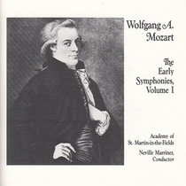 Mozart; The Early symphonies, Vol.I, Disc 1