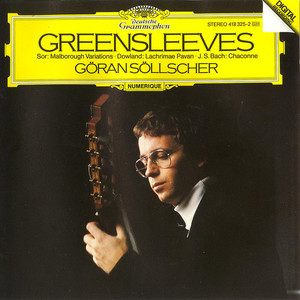 Greensleeves by Göran Söllscher