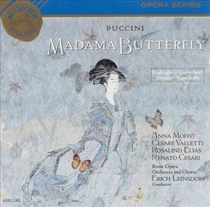Puccini: Madama Butterfly (Highlights) by Erich Leinsdorf