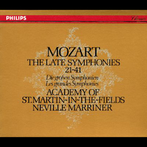 Mozart: The Late Symphonies, Disc 3