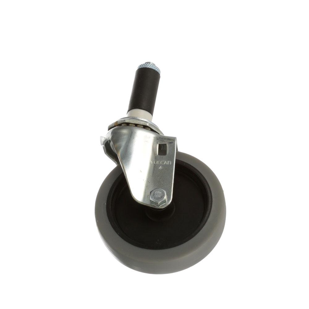 26-2382 - SWIVEL STEM CASTER 4 W  1 OD TUBING