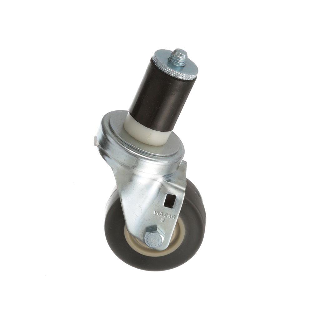 26-2400 - SWIVEL STEM CASTER 3 W  1-1/2 OD TUBING