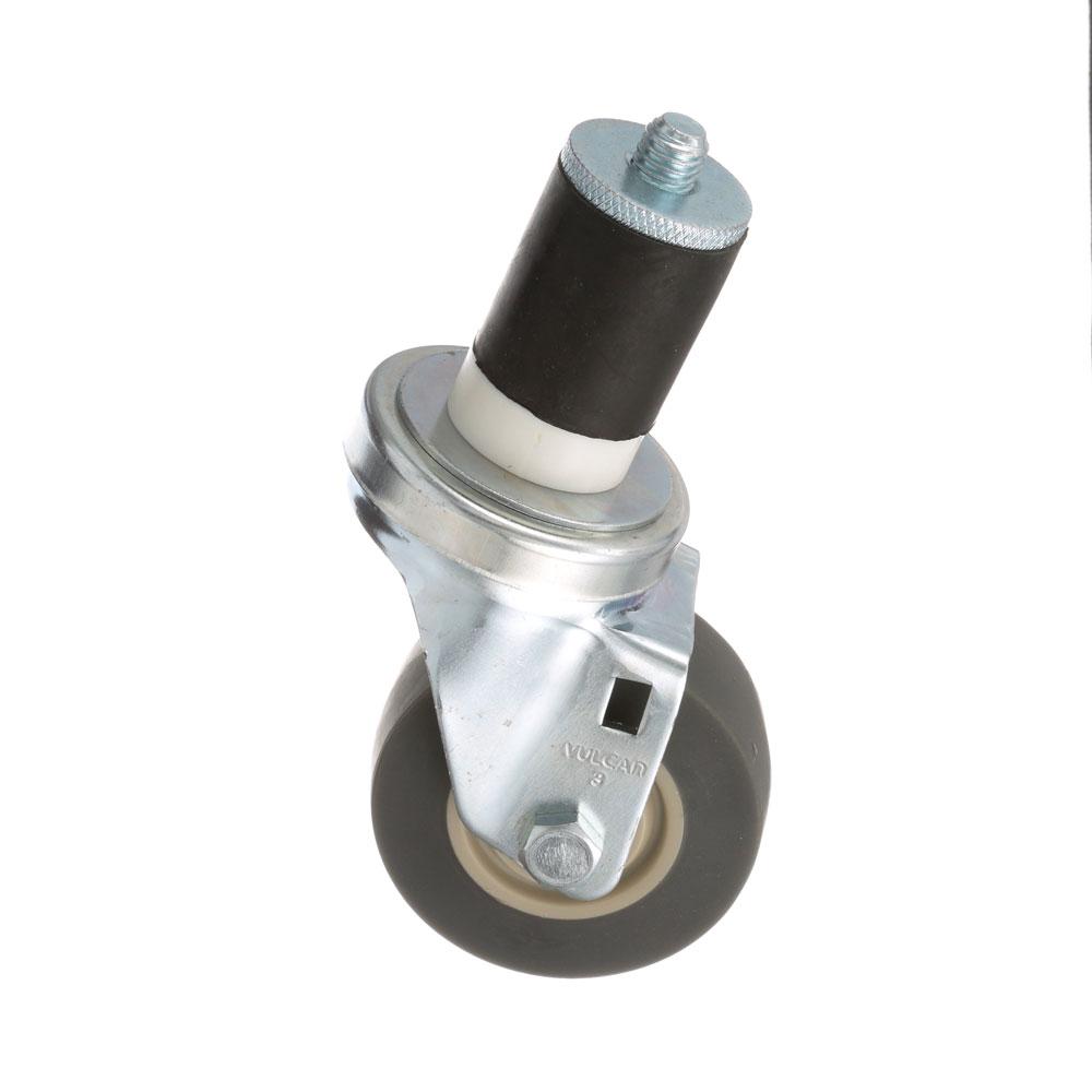 26-2404 - SWIVEL STEM CASTER 3 W  1-5/8 OD TUBING
