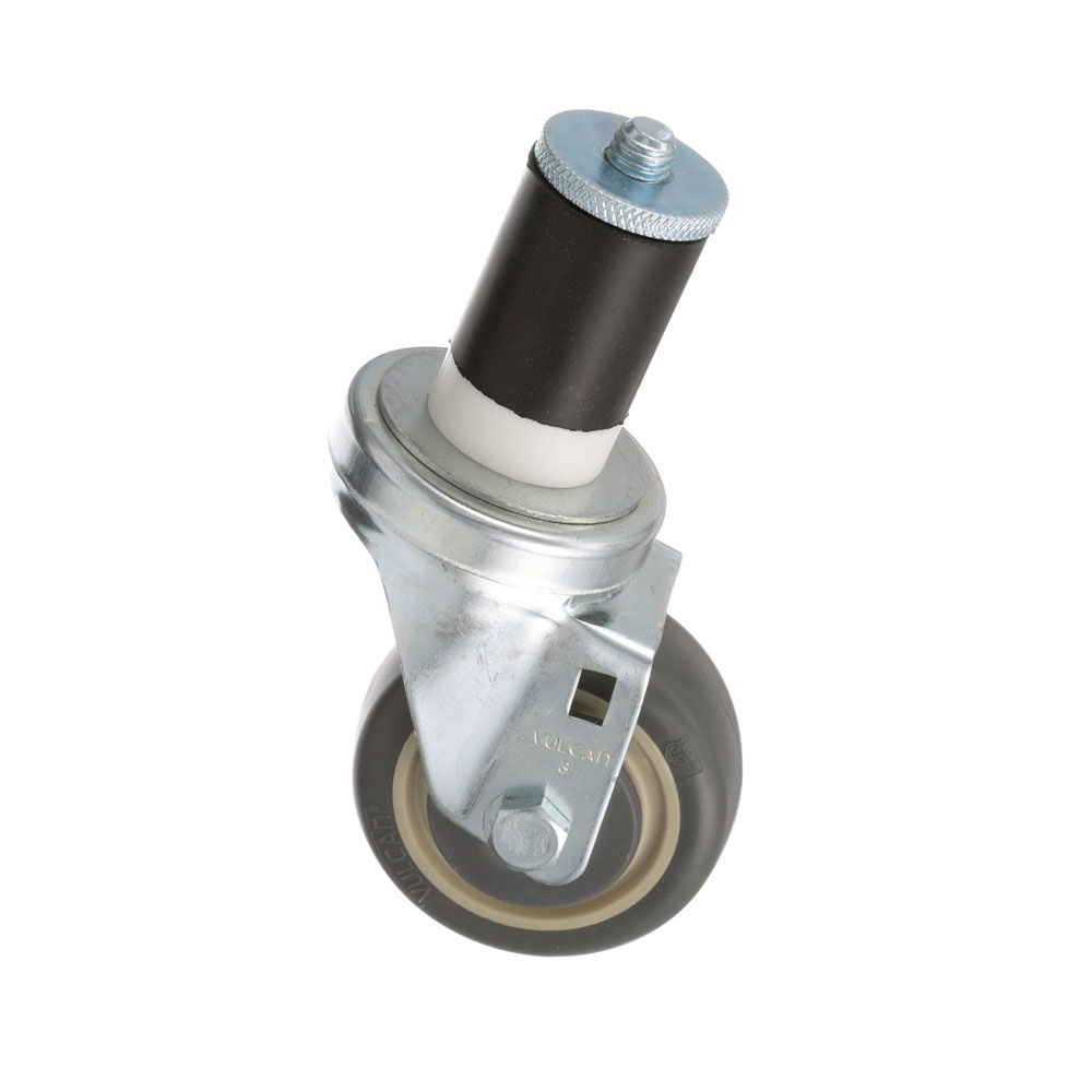 26-2408 - SWIVEL STEM CASTER 3 W  1-5/8 OD TUBING
