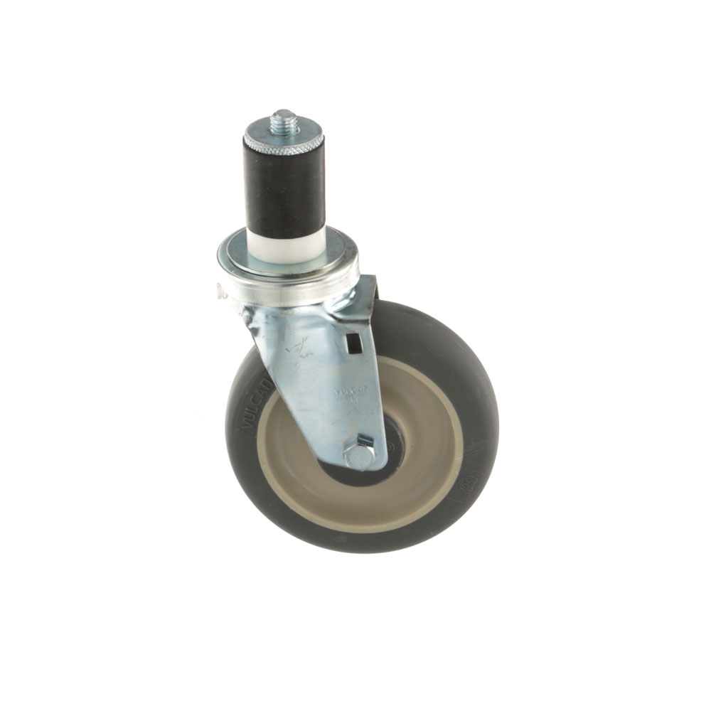 26-2410 - SWIVEL STEM CASTER 5 W  1-5/8 OD TUBING