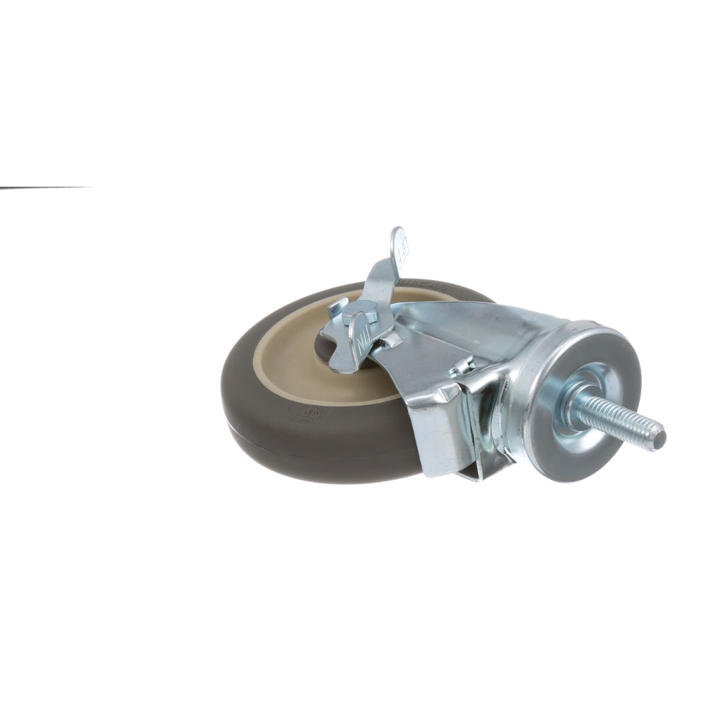 26-2423 - THRDED STM CASTR W/BRK 5 W  1/2-13