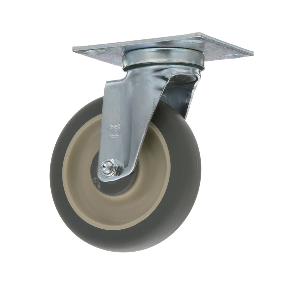 26-2428 - PLATE MOUNT CASTER 5 W 3-3/4 X 4-1/2