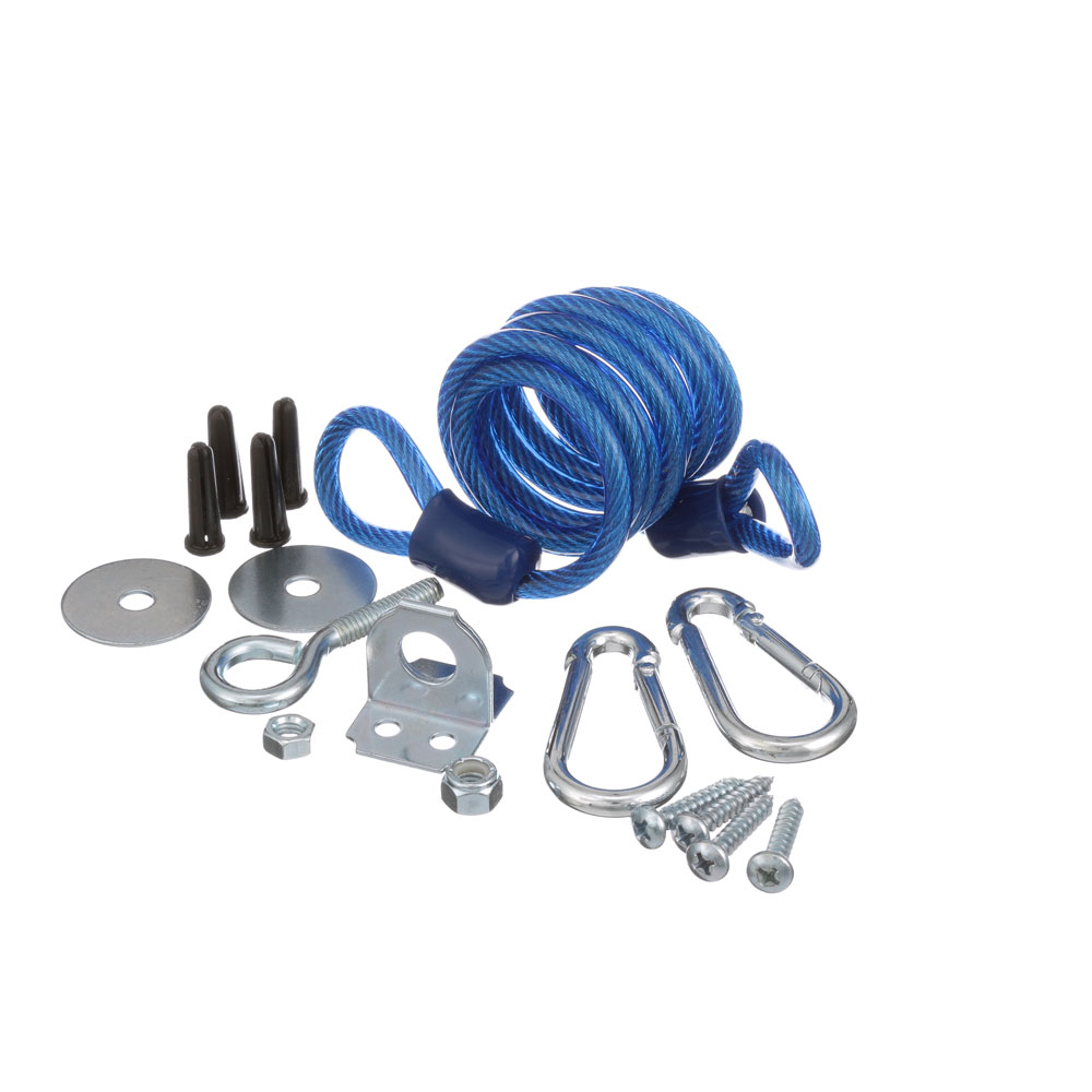 "DORMONT - RDC60 - RESTRAINING CABLE 45"" FOR 60-72"" HOSE"