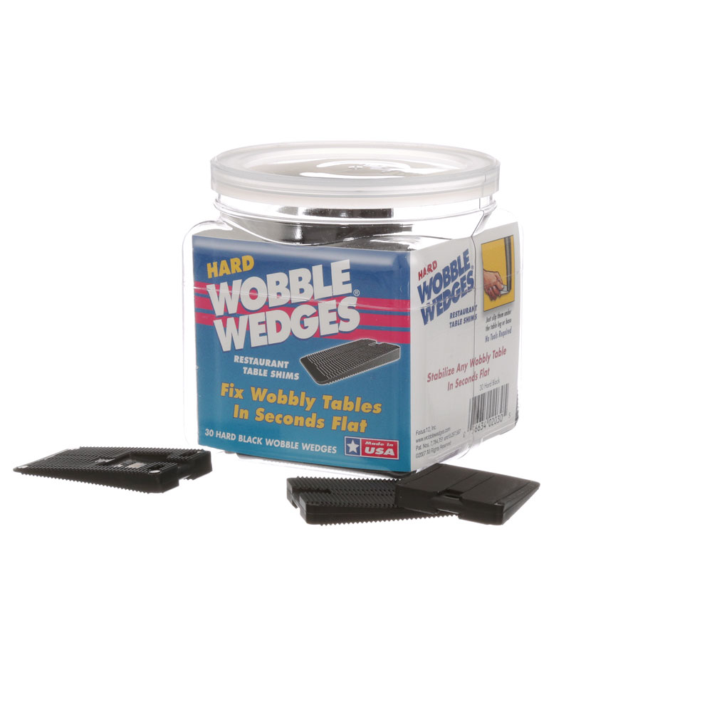 28-1758 - WOBBLE WEDGE BLACK 30 PK