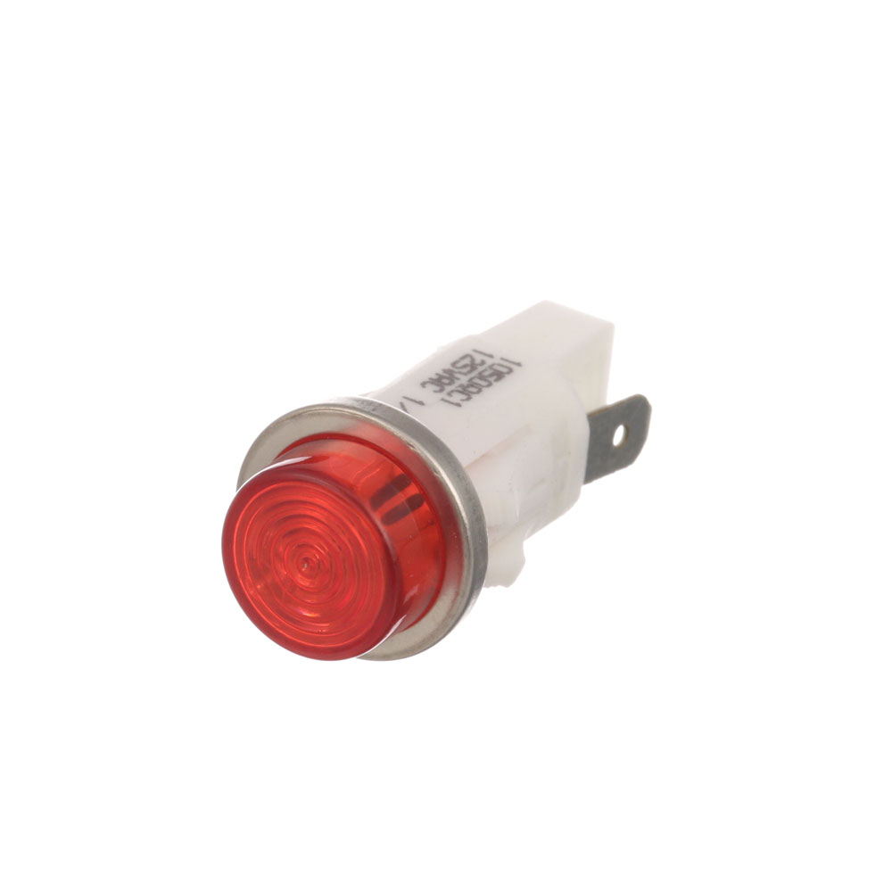 "38-1009 - SIGNAL LIGHT 1/2"" RED 125V"