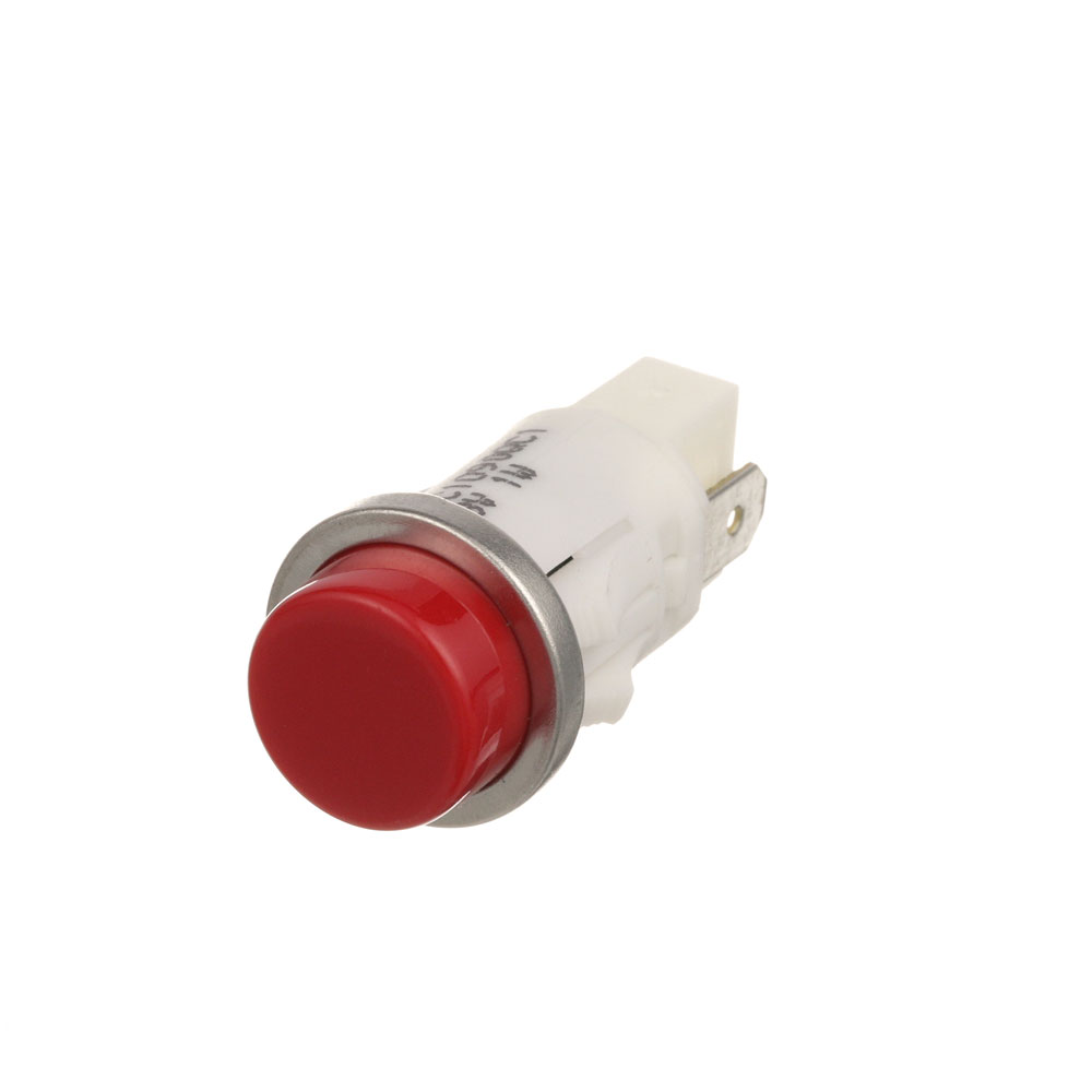 "38-1074 - SIGNAL LIGHT 1/2"" RED 28V"