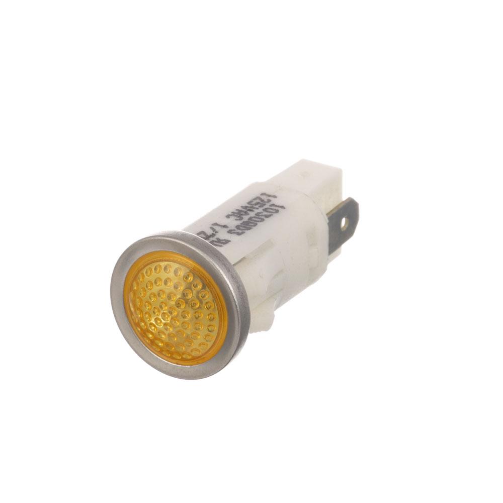 """38-1081 - SIGNAL LIGHT 1/2"""" AMBER 125V"""