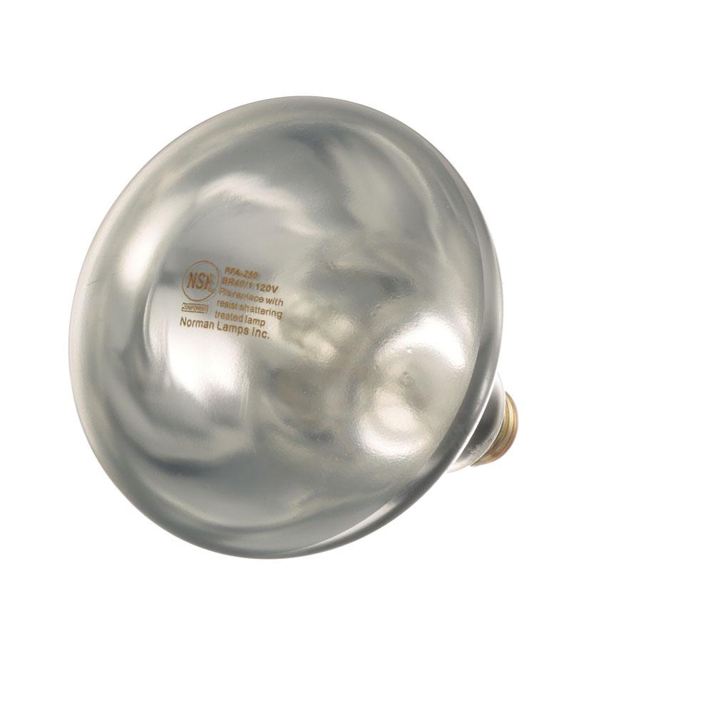 38-1136 - INFRA-RED LAMP (PK 12) (CLEAR) 120V, 250W