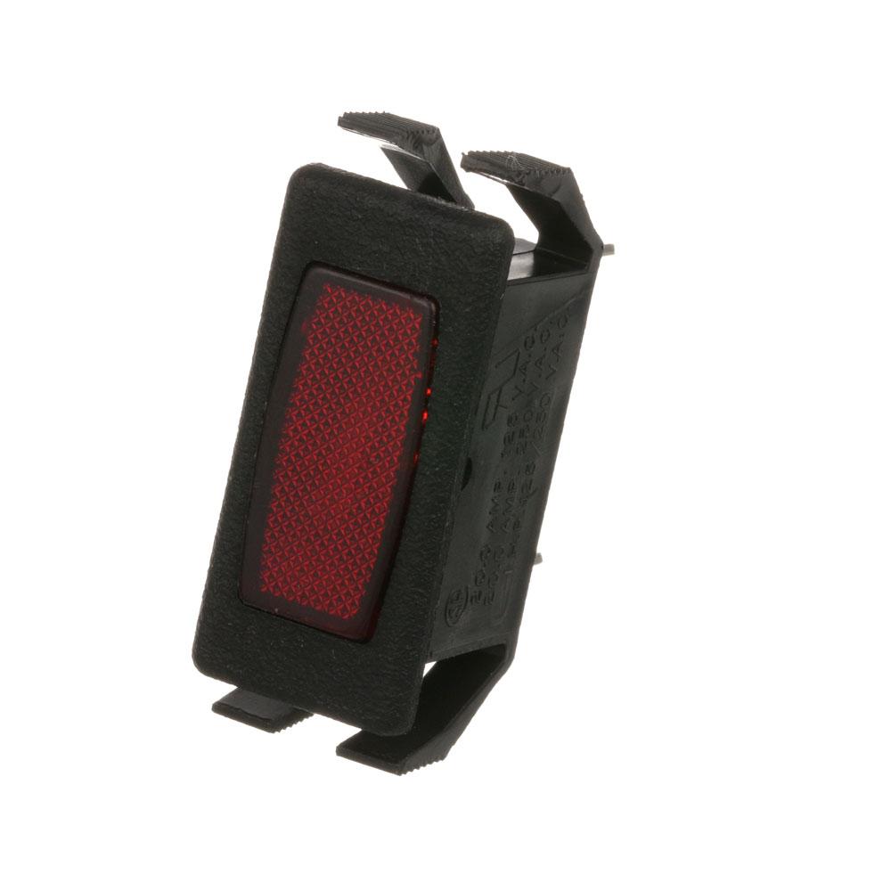 "38-1145 - SIGNAL LIGHT 1/2"" X 1-1/8"" RED 125V"