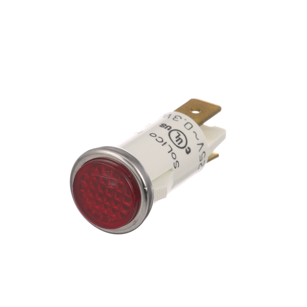 "38-1152 - SIGNAL LIGHT 1/2"" RED 125V"