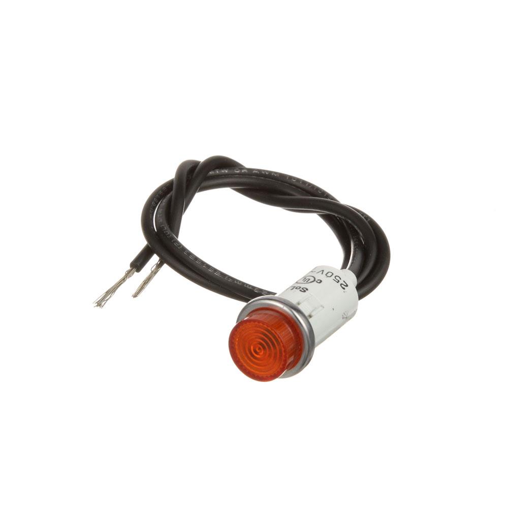 """38-1154 - SIGNAL LIGHT 1/2"""" AMBER 250V"""