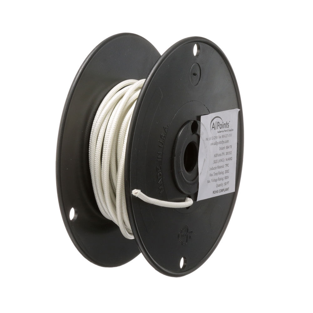 38-1312 - WIRE (50 FT ROLL) #14 SF2 WHITE