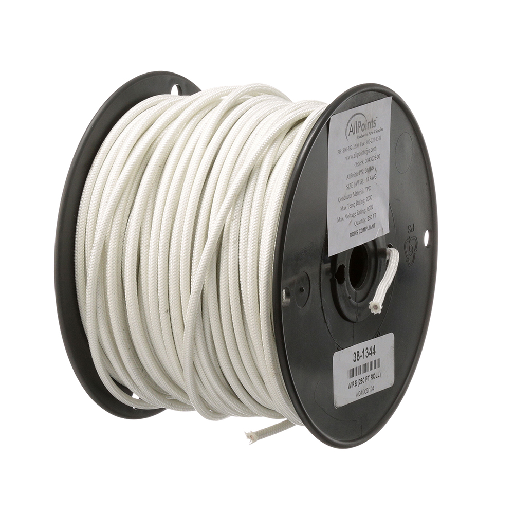 38-1344 - WIRE (250 FT ROLL) #12 SF2 WHITE