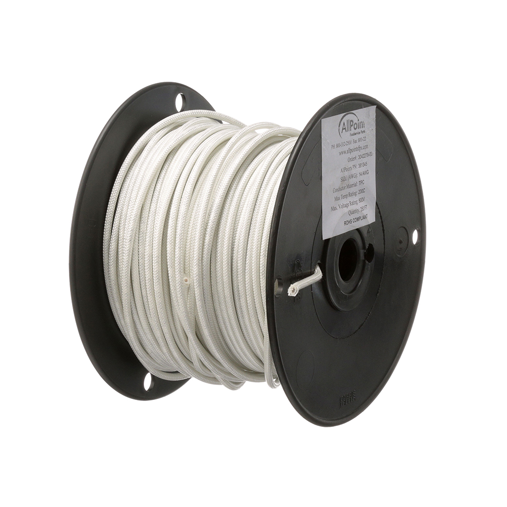 38-1345 - WIRE (250 FT ROLL) #14 SF2 WHITE