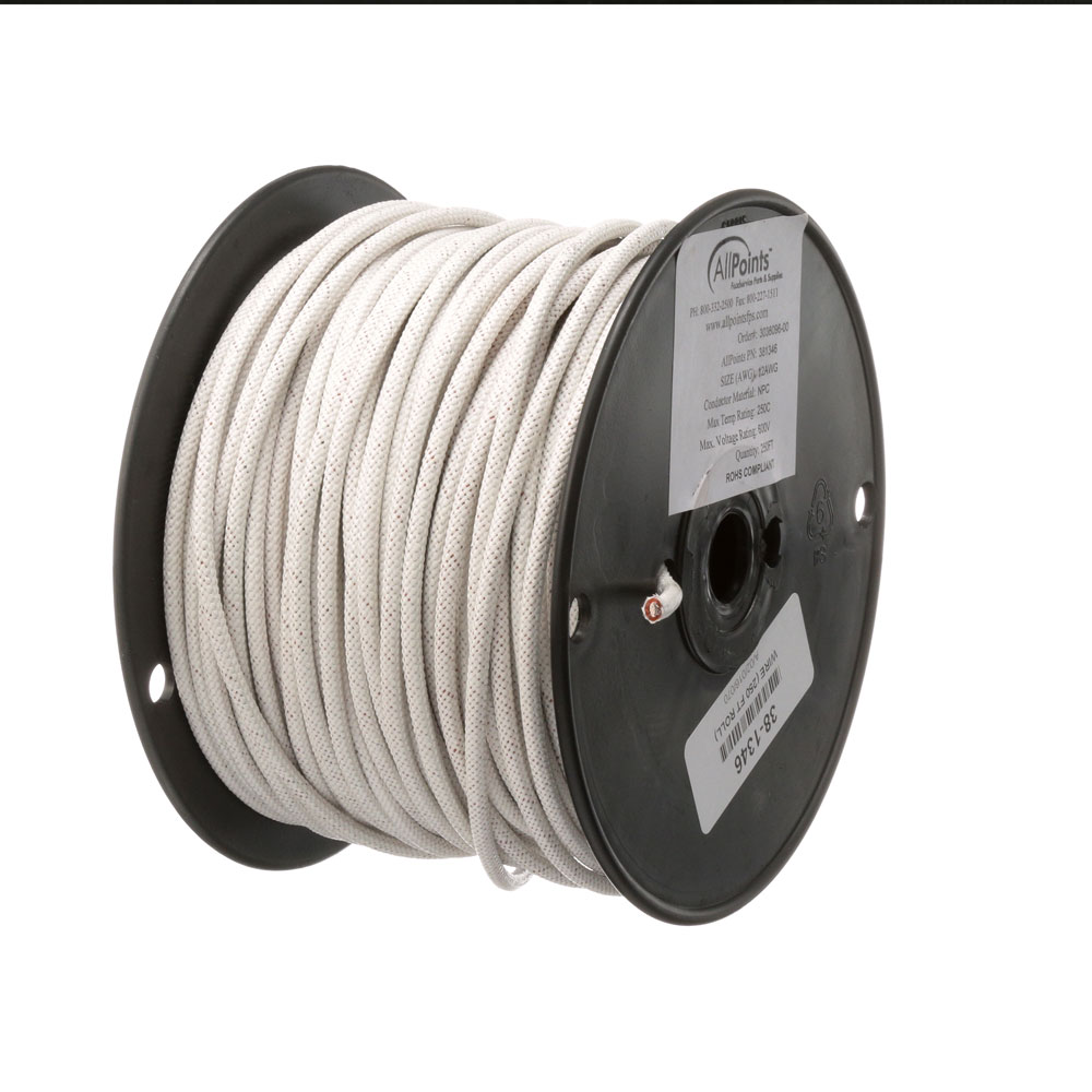 38-1346 - WIRE (250 FT ROLL) #12 WHITE