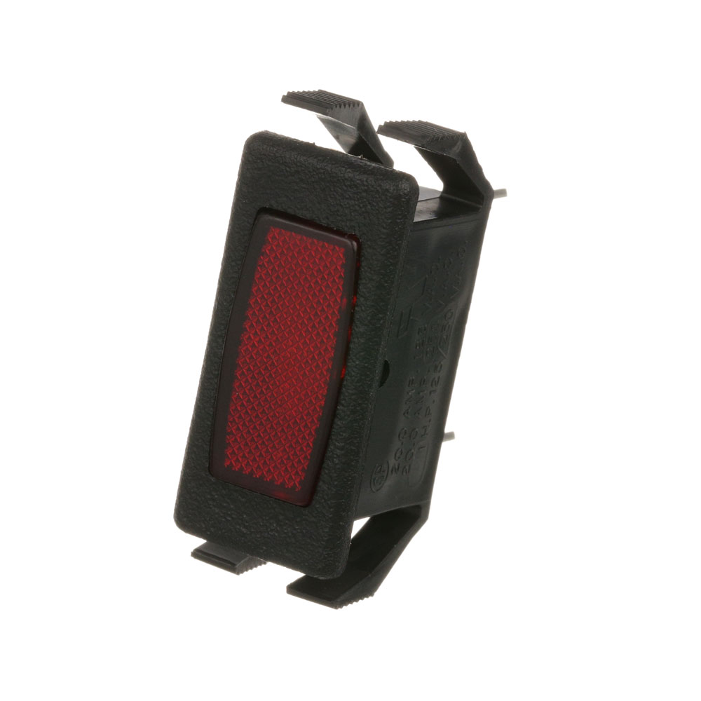 38-1457 - LIGHT, SIGNAL - RED RECTANGULR