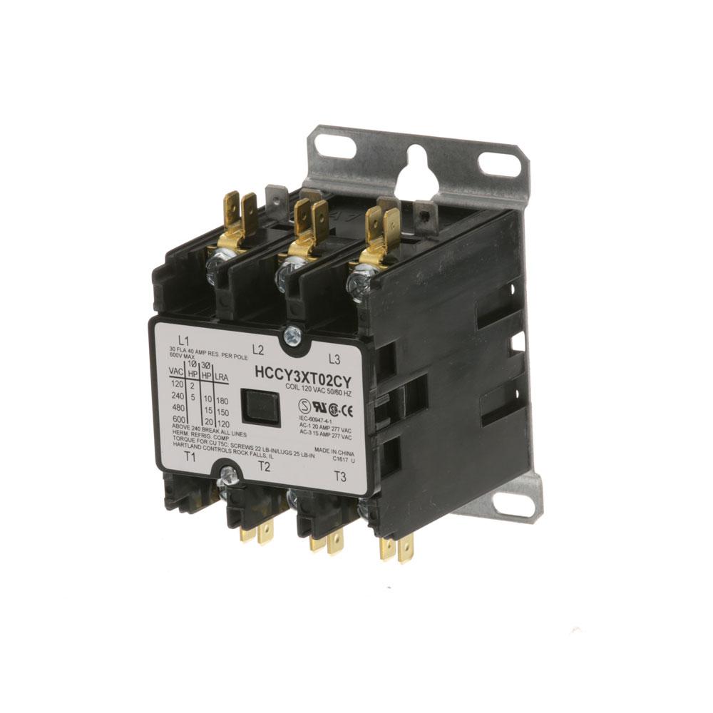 44-1069 - CONTACTOR 3P 30/40A 120V