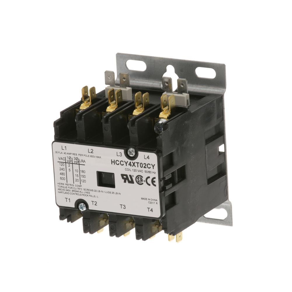 44-1073 - CONTACTOR 4P 30/40A 120V