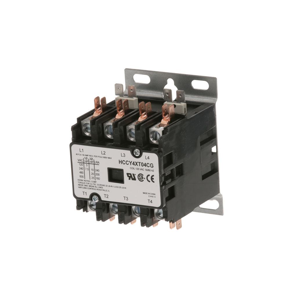 44-1085 - CONTACTOR 4P 40/50A 120V