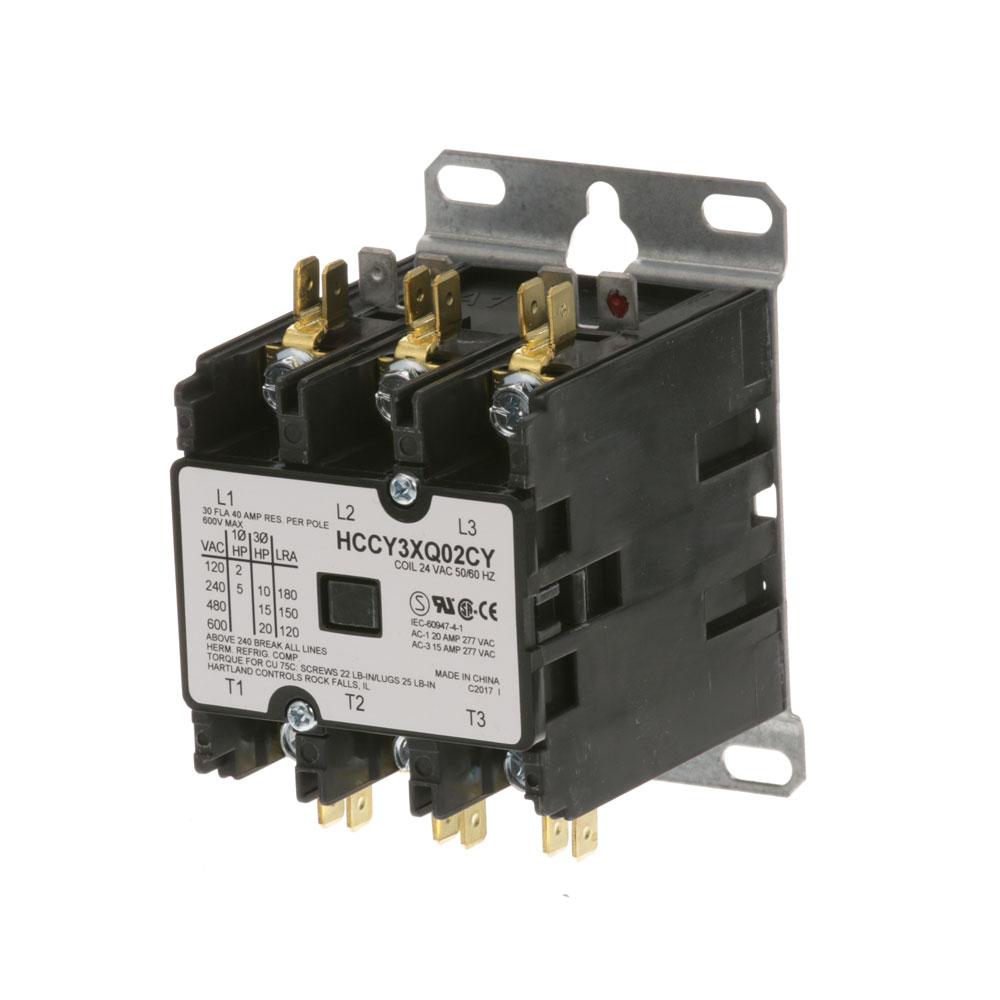 44-1100 - CONTACTOR 3P 30/40A 24V