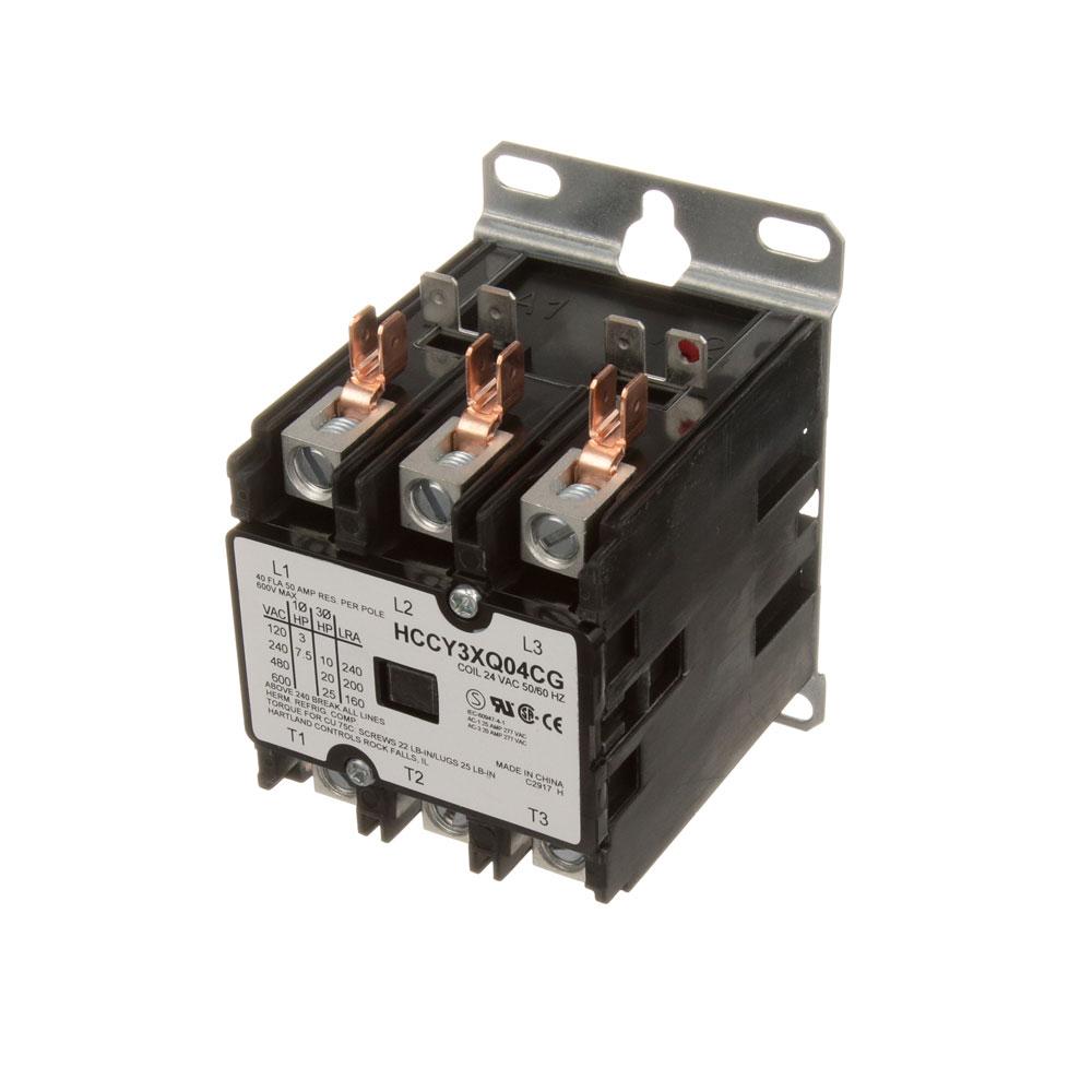 44-1102 - CONTACTOR 3P 40/50A 24V