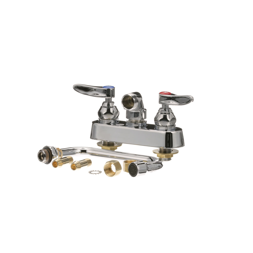 "T&S - B-1115 master 6 - FAUCET 4"" CTR WALL 6"" NOZ"