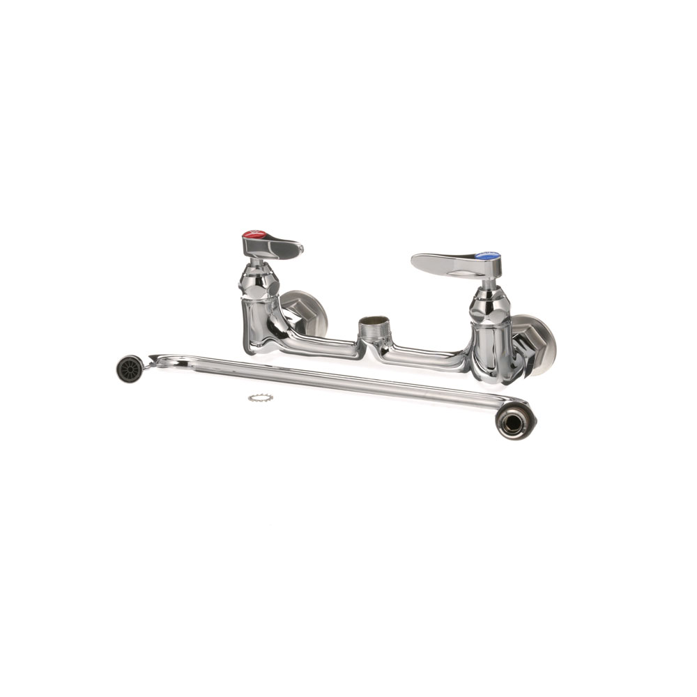 "T&S - B-0231 master 6 - FAUCET 8"" CTR WALL 12"" NOZ"