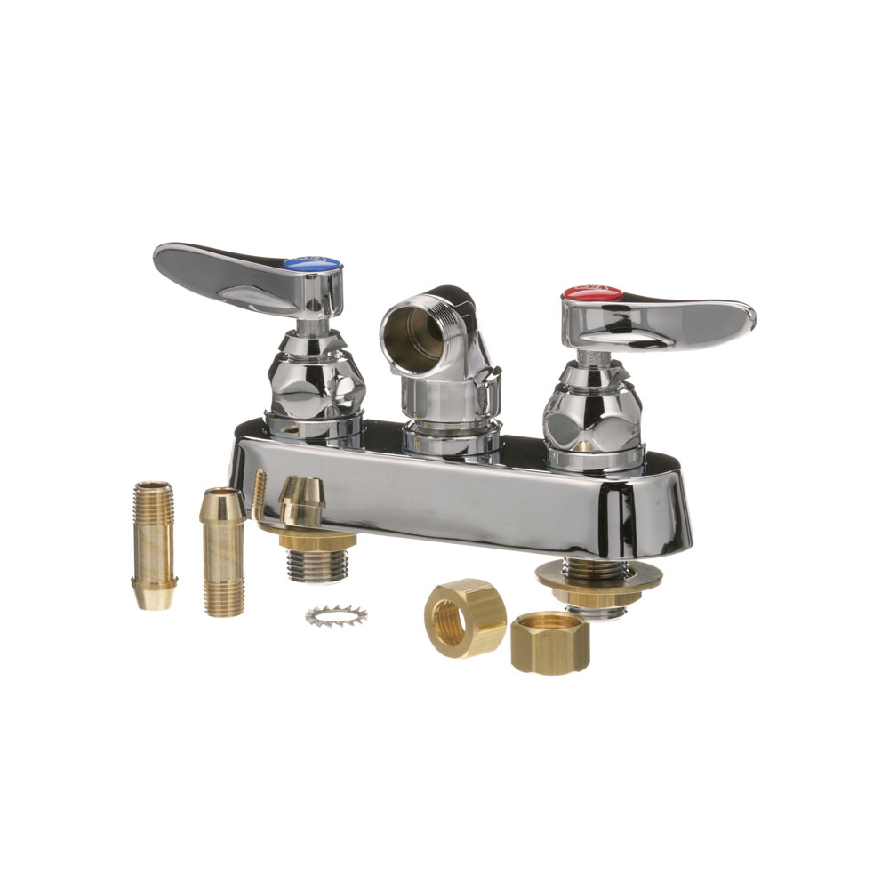 "T&S - B-1115-LN master 6 - FAUCET, WALL MOUNT - 4"" CENTER"