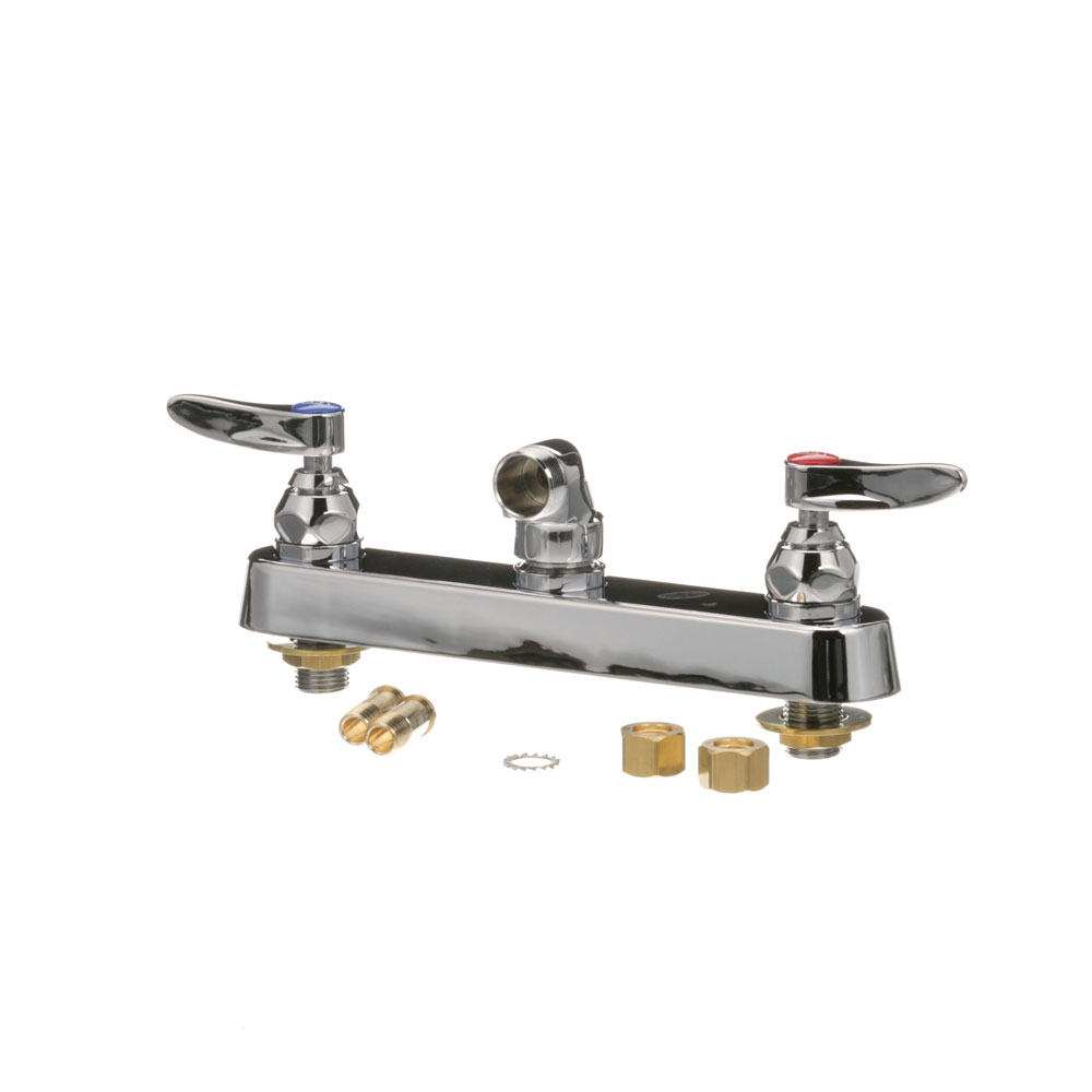 "T&S - B-1125-LN master 6 - FAUCET, WALL MOUNT - 8"" CENTER"