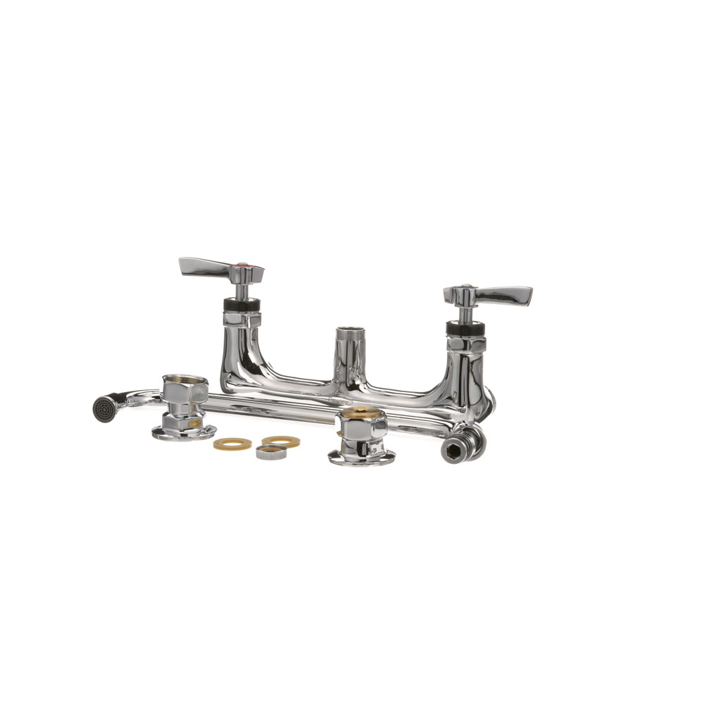 "56-1545 - WALL MOUNT FAUCET  - WITH  12"" SPOUT"
