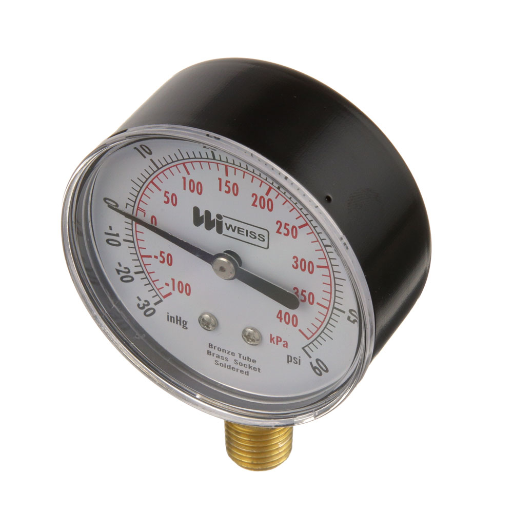 62-1002 - COMPOUND GAUGE 2-1/2, 30VAC-60PSI