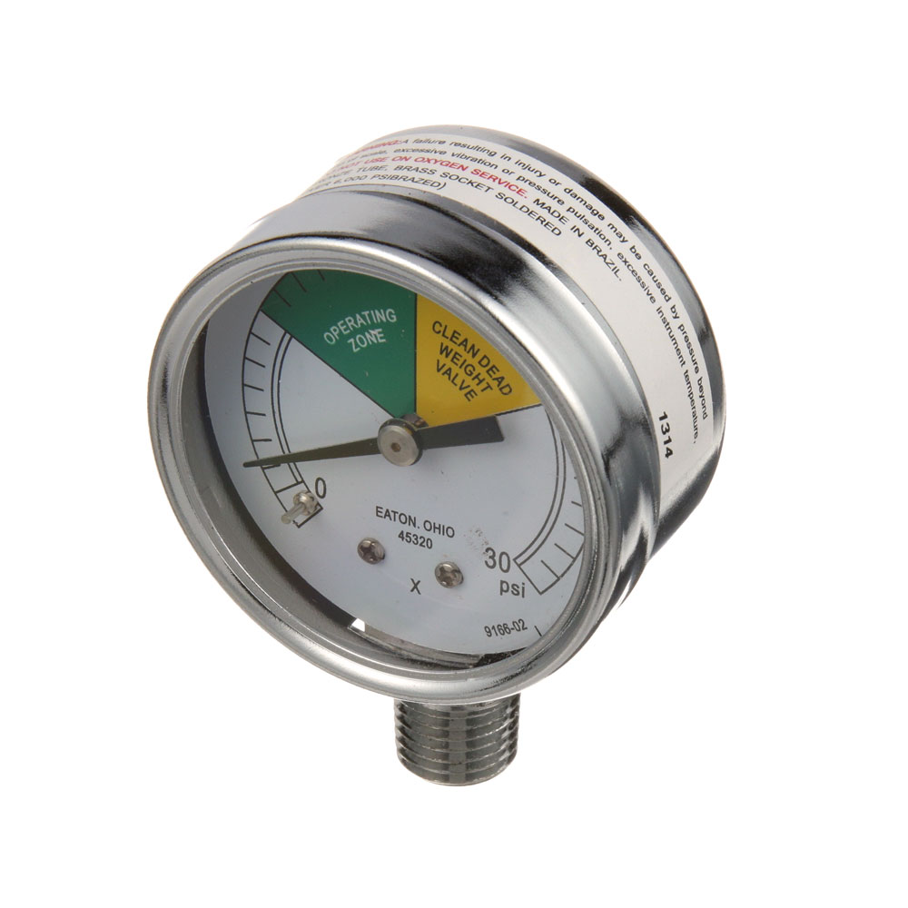 "62-1053 - PRESS GAUGE, 0-30PSI, 2""DIAL, 1/4""MPT"