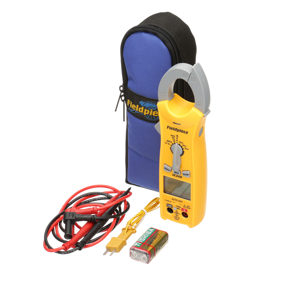 72-1679 - MINI CLAMP METER W/ TEMPERATURE