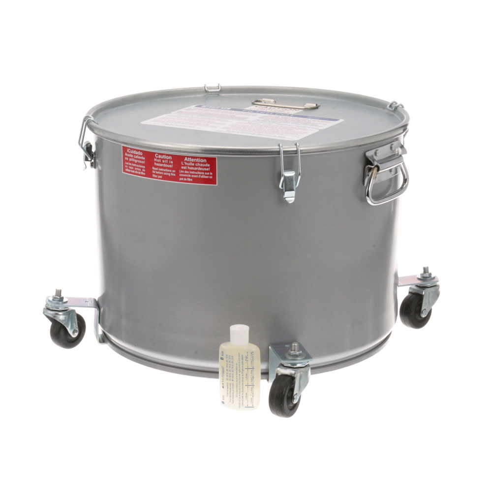 76-1191 - POT/LID, OIL FILTER -W/CASTERS