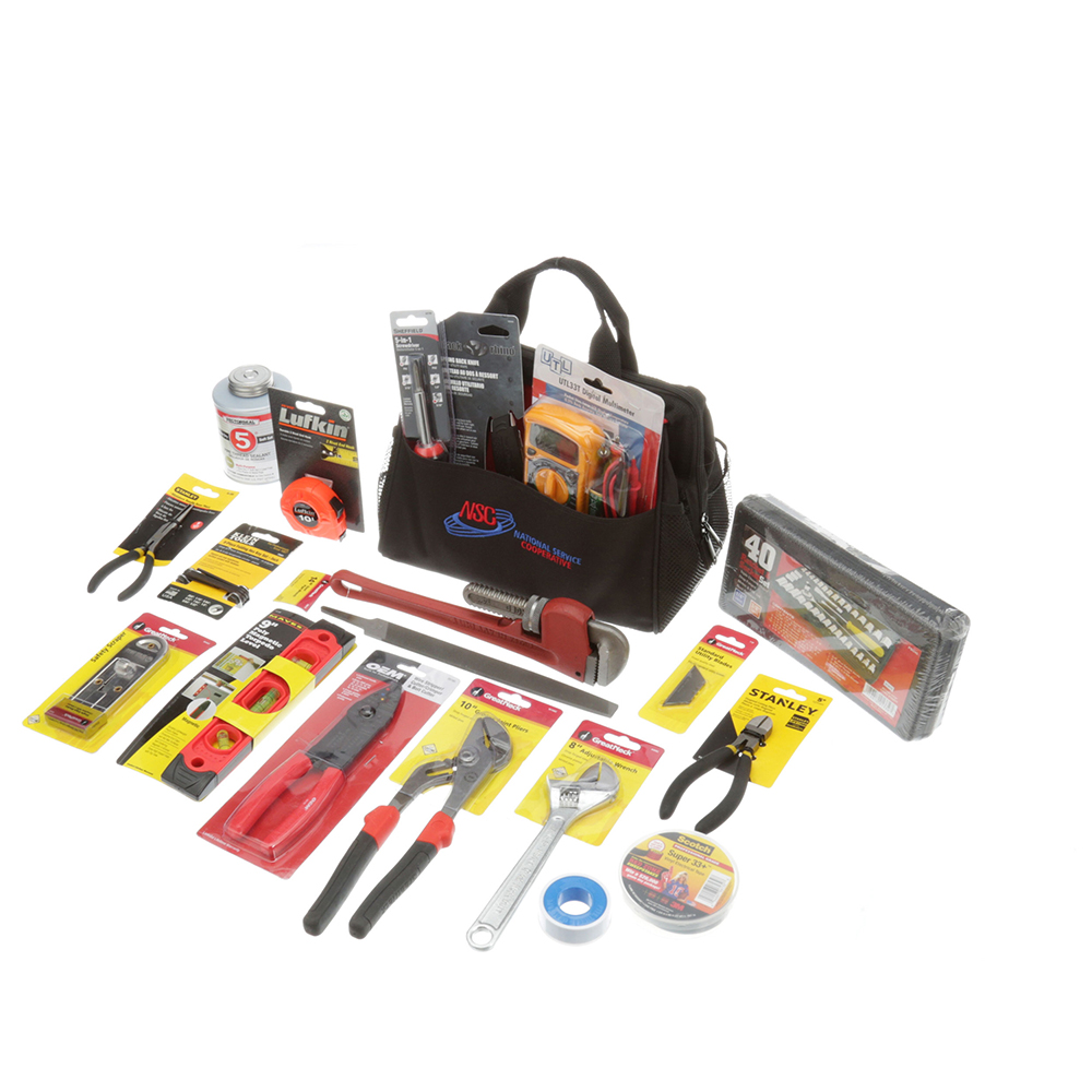 801-2000 - TOOL BAG WITH TOOLS