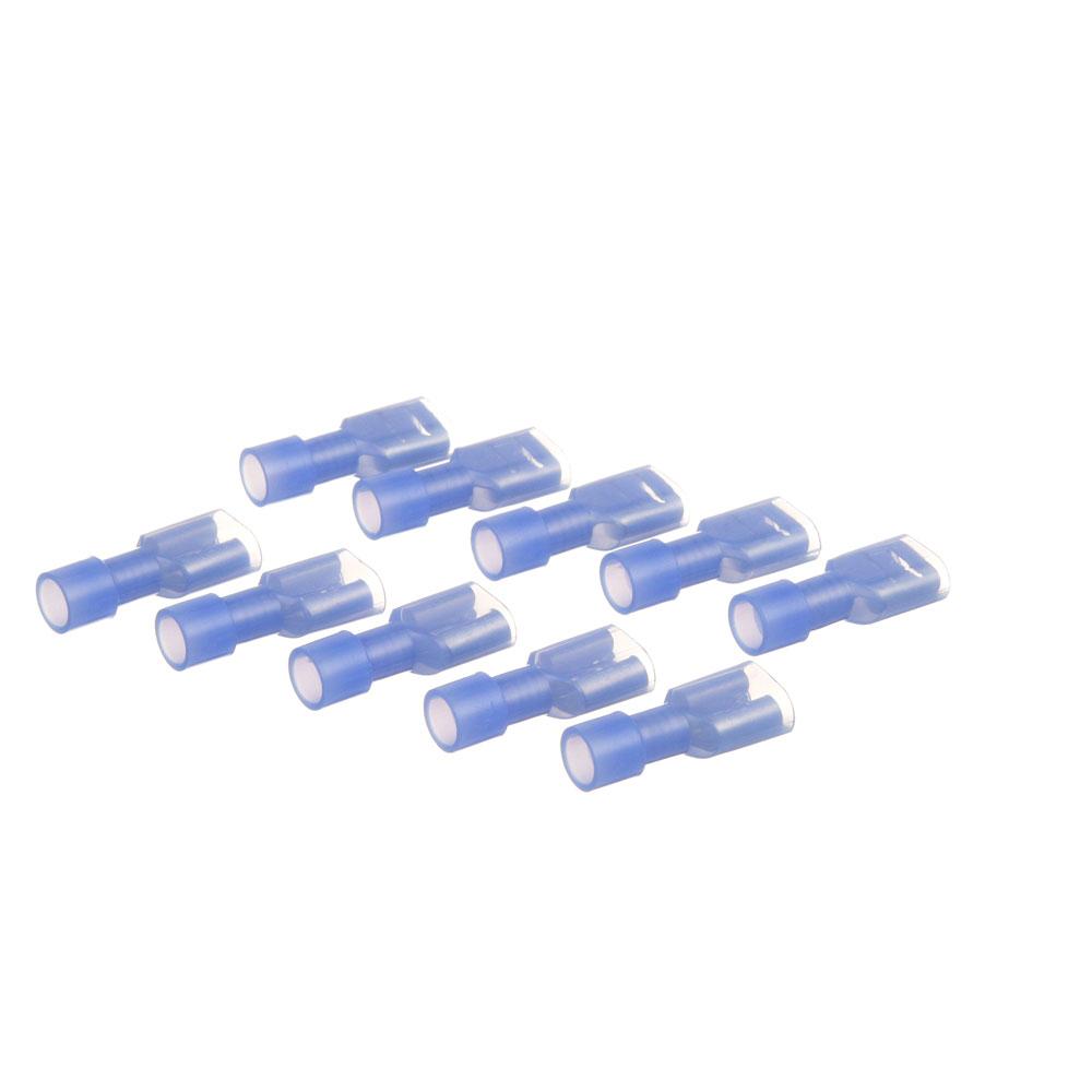 85-1067 - FEMALE DISCONNECT (PK 10 16-14 BLUE, 1/4