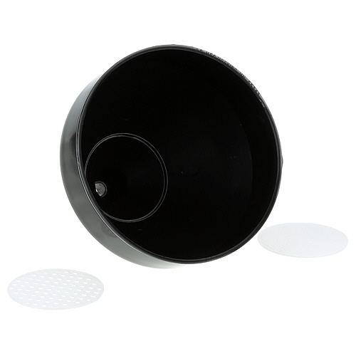 "BAR MAID - CR804 - FUNNEL,DRAIN, 7""DIA X 8""H,PLST"