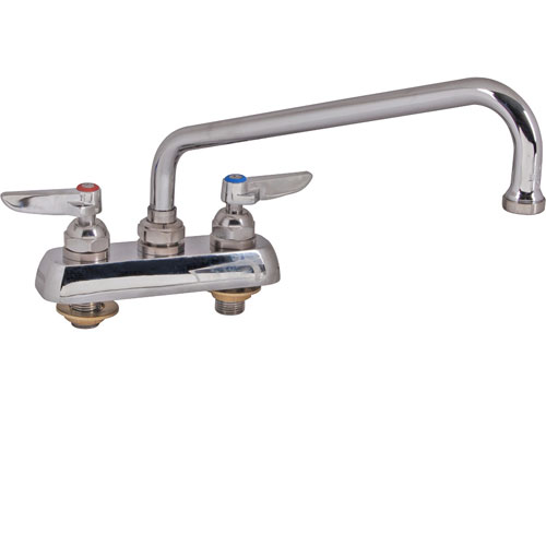 "T&S BRASS - B-1112 - FAUCET,4""DECK, 10""SPT,LEADFREE"