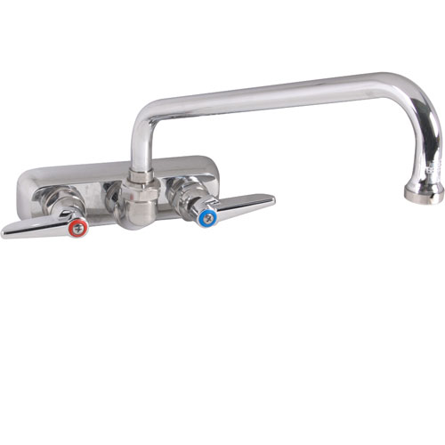 "T&S BRASS - B-1117 - FAUCET,4""WALL, 10""SPT,LEADFREE"