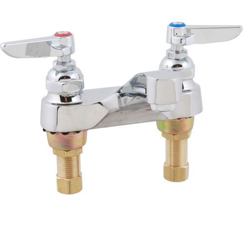 "T&S BRASS - B-0871 - FAUCET,LAV, 4""CENTERS,LEADFREE"