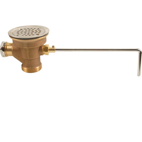 FISHER MFG - 22438 - WASTE,TWIST, BRASS,W/SS VALVE