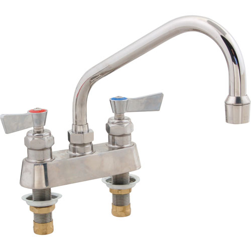 "FISHER MFG - 53759 - FAUCET,4""DK, LEADFREE,SS,8""SP"