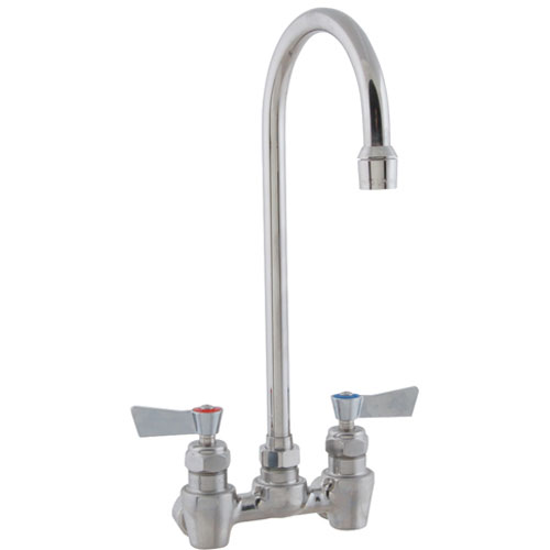 "FISHER MFG - 53880 - FAUCET,4""DK, LEADFREE,SS,GSNK"